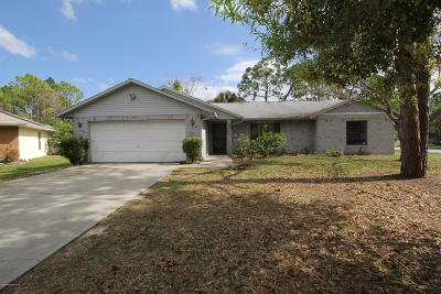 Palm Bay Single Family Home For Sale: 1541 Gisinger Court NW