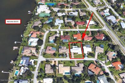 Indialantic Single Family Home For Sale: 1956 Shore View Drive