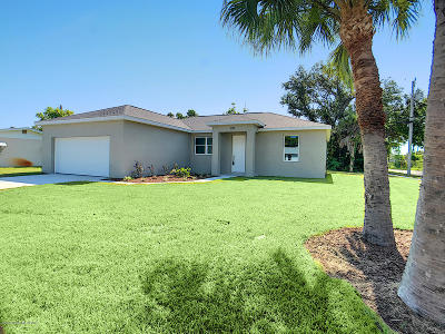 Merritt Island Single Family Home For Sale: 1270 San Juan Drive