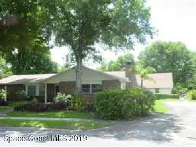 Titusville Single Family Home Contingent: 3686 Alan Drive