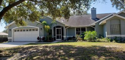Cocoa Single Family Home For Sale: 5321 Banana Avenue