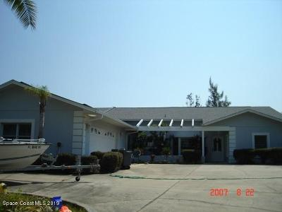 Merritt Island Single Family Home For Sale: 9620 S Tropical Trl