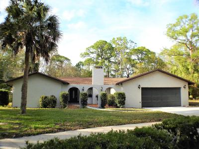 Brevard County Single Family Home For Sale: 6030 Ranchwood Drive S