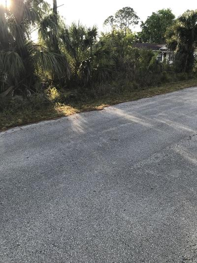 Brevard County Residential Lots & Land For Sale: 577 SW Tasco Avenue SW