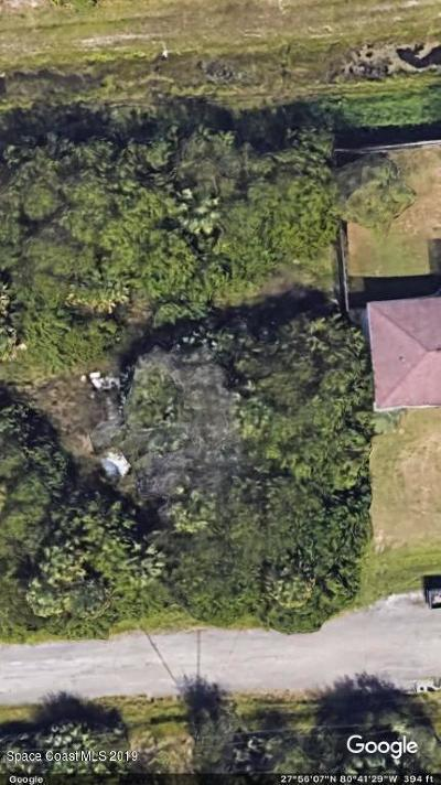 Brevard County Residential Lots & Land For Sale: 755 Olivia Street SW