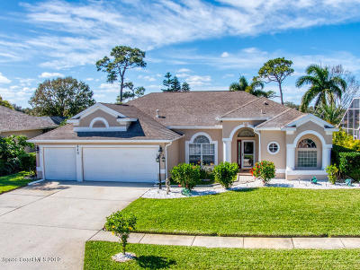 Viera, Melbourne, Melbourne Beach, Indialantic, Satellite Beach, Cocoa Beach, Eau Gallie, Palm Shores, West Melbourne, Palm Bay, Indian Harbour Beach Single Family Home For Sale: 440 Birchington Lane