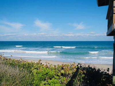 Melbourne Beach Half Duplex For Sale: 5829 S Highway A1a