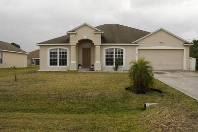 Palm Bay Single Family Home For Sale: 582 Forrest Hills Street SW