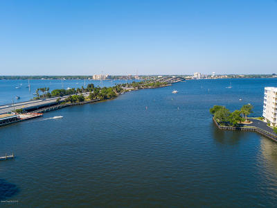 Merritt Island Condo For Sale: 134 Starboard Lane #407