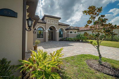 Rockledge Single Family Home For Sale: 914 Casa Dolce Casa Circle