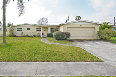 Merritt Island FL Single Family Home For Sale: $225,000