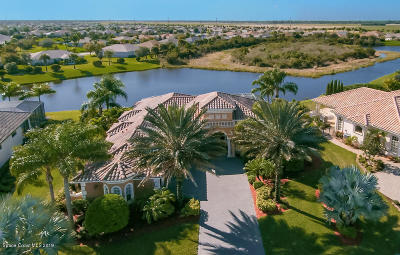 Rockledge FL Single Family Home For Sale: $750,000