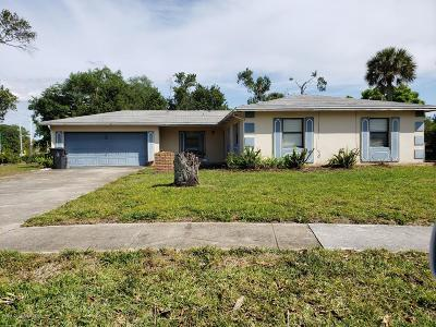 Titusville FL Single Family Home For Sale: $159,900