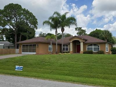 Sebastian Single Family Home For Sale: 773 Crystal Mist Avenue