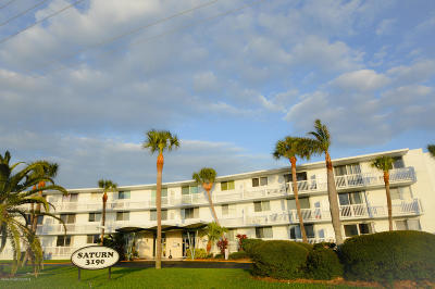 Cocoa Beach Condo For Sale: 3190 N Atlantic Avenue #322