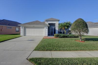 Rockledge Single Family Home For Sale: 4979 Worthington Circle