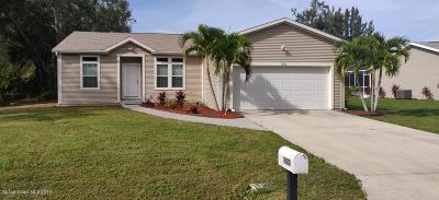 Palm Bay Single Family Home For Sale: 1080 Colonial Avenue SE