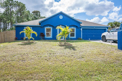 Palm Bay Single Family Home For Sale: 550 Poplar Street SE