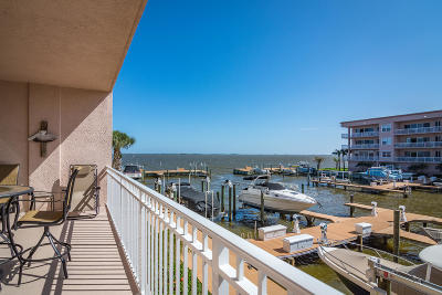Merritt Island Condo For Sale: 540 S Banana River Drive #105