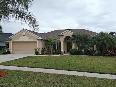 Rockledge Single Family Home For Sale: 4166 San Ysidro Way