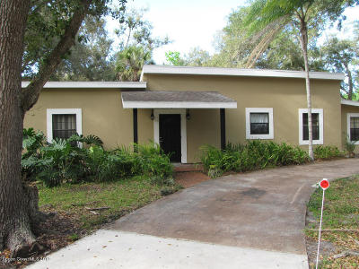 Cocoa Single Family Home For Sale: 4250 Skyway Drive