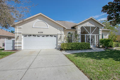 Rockledge Single Family Home For Sale: 4106 Las Cruces Way