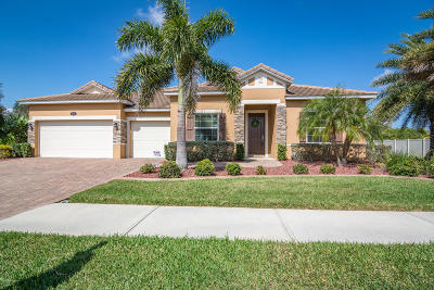 Merritt Island Single Family Home For Sale: 638 Mandalay Grove Court