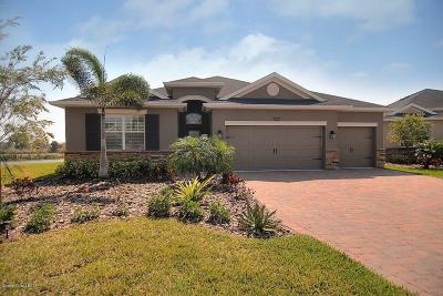 Viera, Melbourne, Melbourne Beach, Indialantic, Satellite Beach, Cocoa Beach, Eau Gallie, Palm Shores, West Melbourne, Palm Bay, Indian Harbour Beach Single Family Home For Sale: 6988 Toland Drive