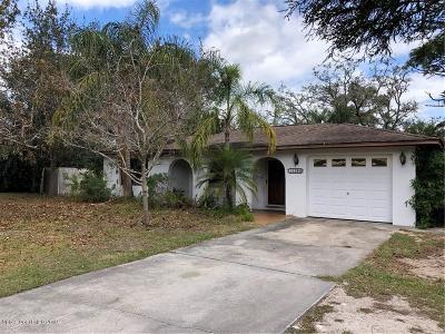 Sebastian Single Family Home For Sale: 11036 Roseland Road