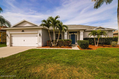 Rockledge Single Family Home For Sale: 5536 Indigo Crossing Drive