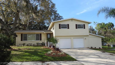 Titusville Single Family Home For Sale: 4125 Alachua Avenue
