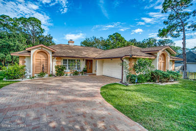 West Melbourne Single Family Home For Sale: 2705 Ranch Road