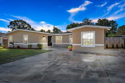 Titusville Single Family Home For Sale: 955 Grant Road