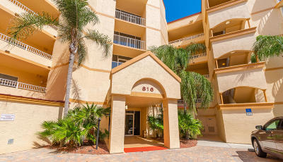 Cape Canaveral Condo For Sale: 816 Mystic Drive #303