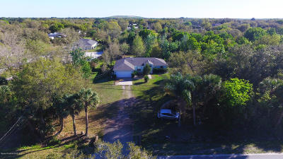 Cocoa Single Family Home For Sale: 5205 Citrus Boulevard