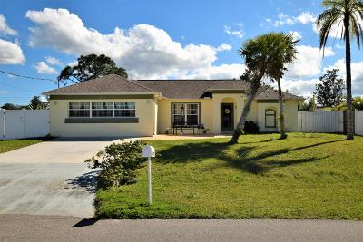 Single Family Home For Sale: 6225 Brandt Street