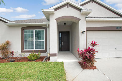 Melbourne Single Family Home For Sale: 4082 Orchard Drive