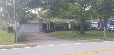 Titusville Single Family Home For Sale: 1822 N Carpenter Road N