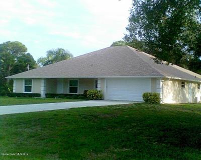 Cocoa Single Family Home For Sale: 4005 Peppertree Street
