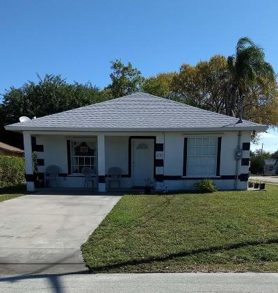 Vero Beach Single Family Home For Sale: 4306 27th Avenue