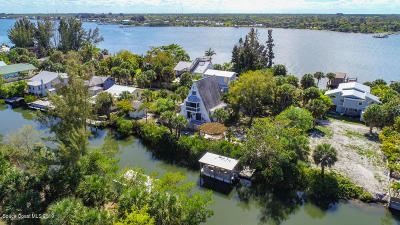 Grant Valkaria Single Family Home For Sale: 38 Vip Island #A