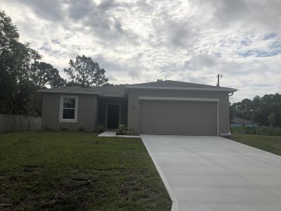 Palm Bay Single Family Home For Sale: 671 Cornelia Avenue SE