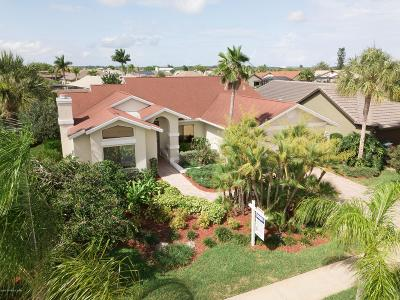 Brevard County Single Family Home For Sale: 2160 Leeward Lane