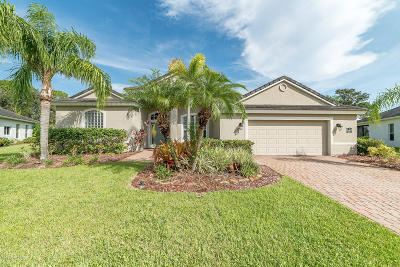 Rockledge Single Family Home For Sale: 1881 Admiralty Boulevard