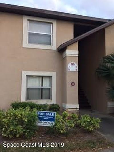Merritt Island Single Family Home For Sale: 265 Spring Drive #5