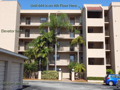 Cape Canaveral Condo For Sale: 201 International Drive #644