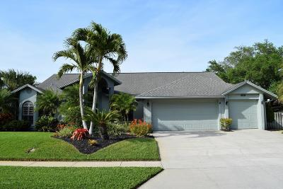 Merritt Island Single Family Home For Sale: 4765 Pawnee Trail