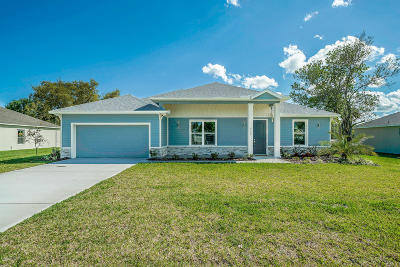 Palm Bay FL Single Family Home For Sale: $289,000