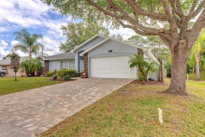 Palm Bay FL Single Family Home For Sale: $227,500