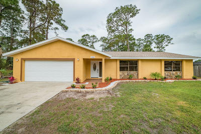 Palm Bay FL Single Family Home For Sale: $244,900